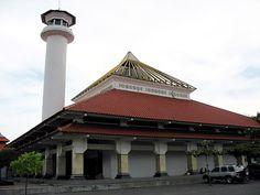 Masjid Ampel Surabaya buit in year 1421, in Indonesia.