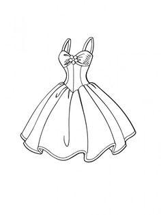 vestido desenho - Pesquisa Google