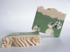 Oakmoss Goat's Milk Soap with silk - masculine outdoorsy scent