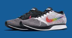 """Be True"" Nike Flyknit Racers celebrate LGBTQ pride."