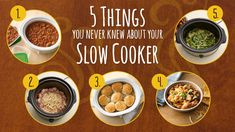 5 Things You Never Knew About Your Slow Cooker Sure, you have slow-cooker recipes, but these simple tricks will make them a whole lot easier. Because, you know, science.