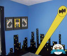 Cute Batman Wall Art Printable 8x10 Poster by LilFacesPrintables