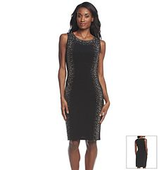 Connected® Lace Drapey Dress | Herberger\'s | Ordination Dresses ...