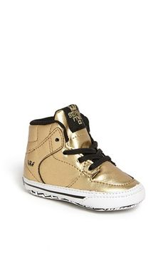 baby boy shoes - Supra 'Vaider' Crib Shoe (Baby) available at #Nordstrom
