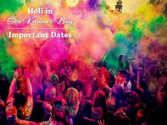 The Braj mandal celebrates #Holi in its own unique way. Find more about this year's important event dates leading up to the festival of colours: http://krishnabhumi.in/blog/how-brajwasis-are-celebrating-holi-in-2018-important-dates/