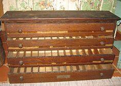 Antique Oak Apothecary Label Dispenser Cabinet Drug Store 4 Drawer Old Pharmacy | eBay