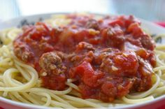 My Crock Pot Spaghetti Sauce Recipes