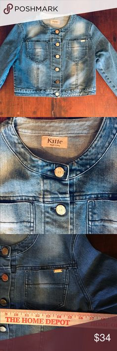9102677f 🌞🌛✨Adorable Cropped Denim Jean Jacket Italy This is an adorable cropped  denim jean