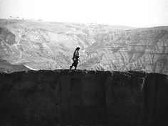 Great Wall Walk, Marina Abramovic. When you know the end it's easier to enjoy the way.