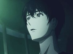 Then he looked at the lights and they look like some light from a cold country he never managed to go... Zankyou no Terror - Nine