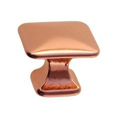 copper kitchen drawer knob