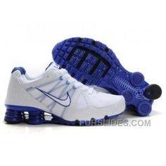 1e5e04c22ff7 Men s Nike Airmax 2009   Shox R4 Shoes White Dark Blue Super Deals