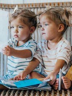 Cute Twins, Cute Baby Girl, Cute Babies, Precious Children, Beautiful Children, Baby Girl Fashion, Kids Fashion, Tatum And Oakley, Pregnant With Boy