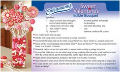 Here's a recipe on how to make the perfect Sweet Donut Bouquet for your loved one this Valentine's Day!  Click the image to enter our sweepstakes as well!