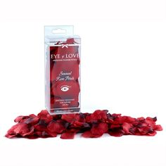 #EyeOfLove #Red #RosePetals These #synthetic #redrose #petals are #perfect to #setthemood & #environment. #Sprinkle around the room & on the bed to set the mood. They are #unscented so you can choose a #matching #ambiance spray to go with it! http://www.dallasnovelty.com/eye-of-love-red-rose-petals/
