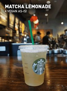 Order Vegan Starbucks Health In 2019 Vegan Starbucks . Vegan Starbucks Drinks, Starbucks Tea, Starbucks Order, Gourmet Recipes, Vegan Recipes, Drink Recipes, Vegan Ideas, Cake Vegan, Dairy Free Options