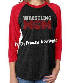 wrestling mom shirt, wrestling mom, wrestling, wrestling shirt, mom, sports mom, glitter shirt, wrestling tshirt, wrestling mom tee by PrettyPrincessBowtiq on Etsy