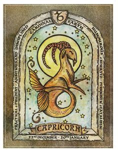 Capricorn ~capricorn 1, day of the ruler, week of the indomitable one