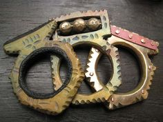 Bronze Rings by Celie Fago