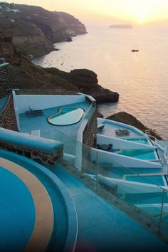 Santorini Hotel Ambassador is the ultimate Santorini escape. Our luxury hotel in Santorini offers 40 suites,villas & rooms with private pools . Best Hotels In Santorini, Santorini Greece, The Places Youll Go, Places To Visit, Ambassador Hotel, Honeymoon Spots, Leading Hotels, Greece Travel, Greece Trip