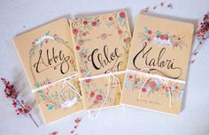 Personalized Wedding Journals