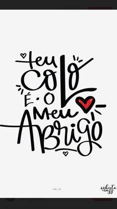 Inspiração de cartão para mãe: para todos os gostos de mães e de filhos. Vem conferir essas ideias e entregar amor em forma de cartão nesse Dia das Mães! Lettering Tutorial, Lettering Design, Message For Mother, Mom Day, Typography, Messages, Let It Be, Sayings, Instagram