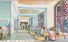 university rendering: University of Pennsylvania rendering
