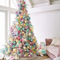 Like a Disney tree, totally adorable but I would never have it at home. Jim Marvin Ornament Collection