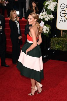 The Olivia Palermo Lookbook : Olivia Palermo In Delpozo At The Golden Globes