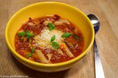 Deilig Italiensk Minestronesuppe - Full av næring og gode smaker!