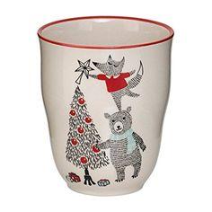 Bloomingville Tasse Twinkle Weihnachten