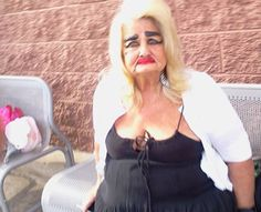 "DE VIL IN HER OLD AGE ""Stay Classy People of Walmart!"" Makeup Is Cheaper At Walm - Funny Pictures at Walmart"