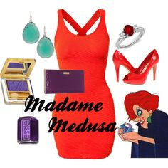 Madame Medusa by amarie104 on Polyvore