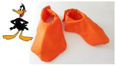 Looney Tunes el pato zapato cubre a niño tamaño adulto