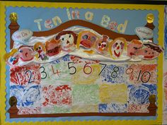 Ten in the bed classroom display photo - Photo gallery - SparkleBox