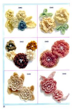 There's no such thing as too many crochet flowers!