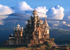 Kizhi is an island-town in the center of Lake Onega in the state of Karelia in northwestern Russia. The island has been settled since approximately the 13th century.