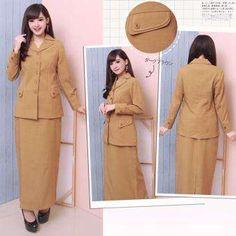 Blouse Batik, Batik Dress, Batik Fashion, Dress Sewing Patterns, Love Her Style, Kebaya, Office Fashion, Sewing Clothes, Safari