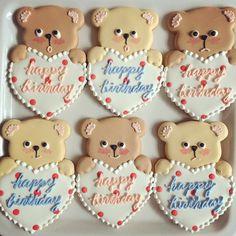 pretty bear cookies