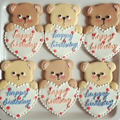 pretty bear cookies