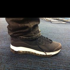 Jordans and Air max hybrid, best of both worlds :) worn by Tom L.