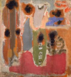 dailyrothko: Mark Rothko, No. 2, 1947, Oil on... | Everything flows - panta rhei