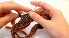 Beginner Crochet Leg Warmers  ****** Left Handed