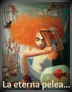 Problemas de chicas con cabello chino!