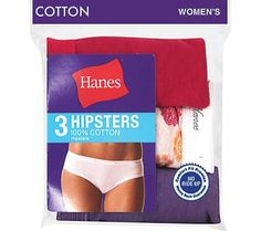 CLICK IMAGE TWICE FOR PRICING AND INFO :) #women #panties #lingerie #cotton #cottonpanties #lace #sexylingerie #intimates #undergarment  #hipster see more cotton panties at  http://zpanties.com/category/panties-categories/cotton-panties/  -  Hanes Women's No Ride Up 100% Cotton Hipsters 3 Pack, 6-Assorted « Z Panties
