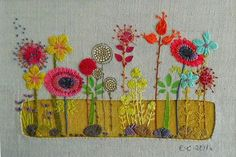 Textile Design and Designer`s Platform. Manchester based textile artist Liz Cooksey makes varied and complex work inspired by the detail of natural forms.She uses a range of hand and machine textile techniques to produce richly decorative embroideries.She uses a range of hand and machine textile techniques to produce her richly decorative floral-inspired embroideries.