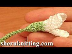 Crochet Snowdrop Flower Pattern Tutorial 75 Free Crochet Flower Patterns, My Crafts and DIY Projects