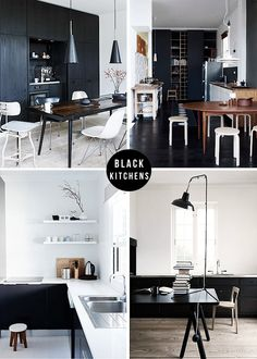 black+kitchen+collage+frenchbydesign+wm.png 684×959 pixels
