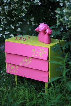 Green and Pink? Yes Please!