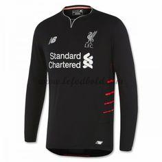 Billige Fodboldtrøjer Liverpool 2016-17 Langærmet Udebanetrøje